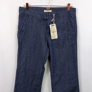 Levis 8P Med Low Rise Trouser Cut Denim Jeans